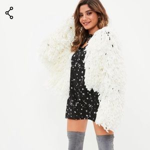 Black floral mini Dress